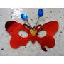 Antifaz Mariposa Brillante Antena Peq Hora Loca Boda 15 Años