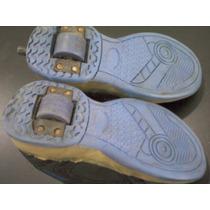 Zapatillas Con Rueditas Número 32-plantilla Mide 21cm.