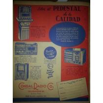 Radios Antiguas Cañero Condal Zier Columbia Publicidades
