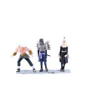 Action Figure Naruto Shippuden Kit Com 3 Peças 12x