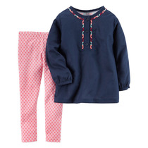 Carters Conjunto 2 Pzas Camisa Calza - Beba Importado Usa