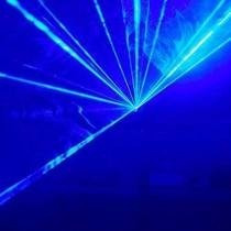 Laser Azul Rayos Figuras Dmx Audioritmico