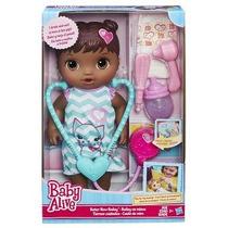 Boneca Baby Alive Cuida De Mim Negra - Hasbro