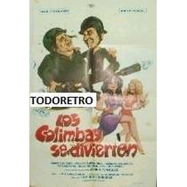 Afiche Los Colimbas Se Divierten Alberto Olmedo Porcel 1986