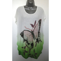 Blusa Sobre Legue Feminina Camiseta Gg + Brinde