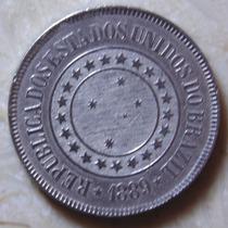 Moeda De 200 Reis 1889, Niquel Republica, Soberba