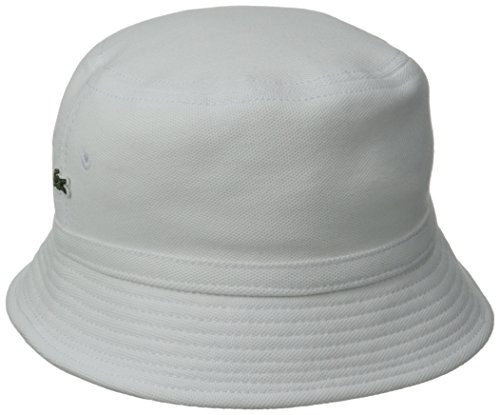 Cubo Piqué Lacoste Hombres Del Sombrero Masculino 04a05c7a043