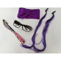 Kit Oculos Turbante Mexa Tiara Colorida Cumplice Resgate