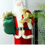 Boneco Grande Papai Noel Animado 1.8 Metros Gigante E Dança