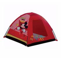 Carpa Camping Infantil De Juegos Mickey Mouse Mundo Manias