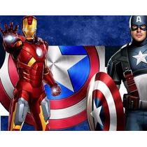 Kit Imprimible Candy Bar Los Vengadores Avengers Golosinas