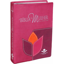 Bíblia Sagrada De Estudo Da Mulher Grande Sbb Nova Capa
