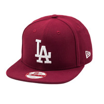 Boné New Era Strapback Original Fit Los Angeles Dodgers Bor