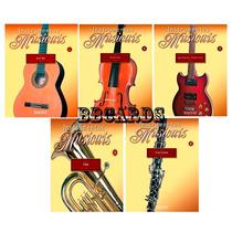Miniatura Instrumentos Musicais Tuba Clarinete Ou Violino
