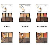 Paleta De Corretivo Contorno Ruby Rose Kit Maquiagem 6 Cores