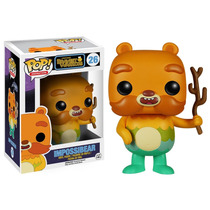 Funko Pop Impossibear Bravest Warriors Oso De La Caricatura