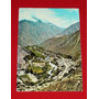 Antigua Postal Churín Perú Vista Población Swiss Foto 1974