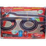 Cars Super Speed Racing Cars Pista Con 2 Autos Rayo