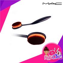 Brocha Oval Mac - Ideal Para Base O Corrector