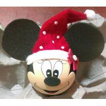 Adornos Navideños Esferas Mickey Mouse Y Mimi