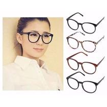Armação Óculos De Grau - Redondo Geek Retrô Vintage Wayfarer