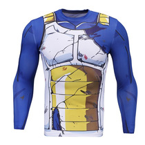 Playera Vegeta Trunks Goku Dragon Ball Crossfit Gym
