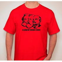Remera Estampada Revolucionarios Marx Engels Lenin Retro Pop