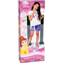 Microfono Pie Ajustable Princess Disney Karaoke Ditoys