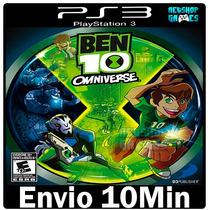 Ben 10omniverse Psn Playstation3 Ps3 *** Envio Imediato ***
