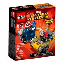 Lego Super Heroes - Marvel - Capitão América X Red Skull