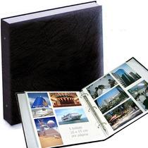Álbum De Fotografias Gigante Luxo, Para 500 Fotos De 10x15cm