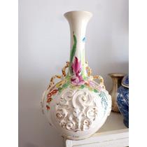 Florero Porcelana Antiguo Cadac