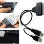 Cable Externo Usb 2.0 Para Disco Duro Sata 2.5