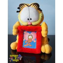 Boneco Garfield De Pelúcia E Porta Retrato Tenho Mc Donalds
