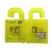 Rsim 10+ Plus Iphone 5,5c, 5s, 6, 6+, 6s, 6s+ Gevey Turbosim