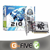 Tarjeta De Video 1gb Nvidia Geforce 210 Pci Express Ddr3