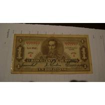 Antiguo Billete. Bolivia Un Boliviano Año 1928 Serie 1.2