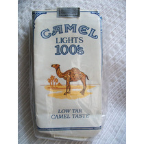 Marquilla De Camel Lights