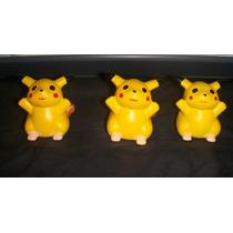 Pikachus - Pokemon Decoración O Recuerdos. (ceramica)