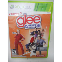 Glee Karaoke Revolution Vol 3 Juego Xbox 360 Disco F791