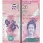 Venezuela 20 Bolívares Completamente Nuevos!!!!!!!!!!!!!!!!!