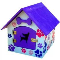 Preciosa Casa Para Mascota. Tamaño Chico.