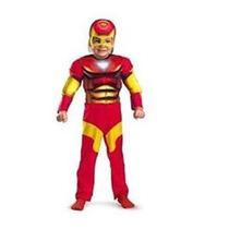 Disfraz Importado Iron Man Talla 2 Y 3-4 Años