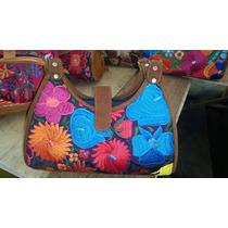 Finos Bolsos Para Dama Bordados Artesanales Chiapas