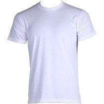 Camisas Adulto 100% Algodão Lisa Kit Com 10 Peças