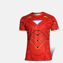 Homem De Ferro Camisa Iron Man Avengers Marvel Heroes