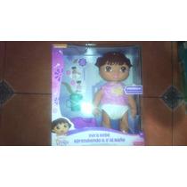 Dora La Exporadora Bebé Aprendiendo A Ir Al Baño Mattel