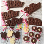 Chupetines De Chocolate Souvenir Bebes -1 Año-babyshower X10