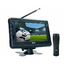Tv Portatil Bak 7190 Tela Lcd De 7 Polegadas Tft-7190