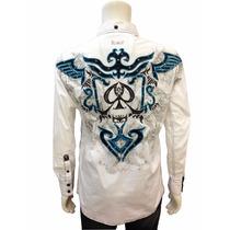 Camisa Roar Tipo Ed Hardy, Rebel Spirit